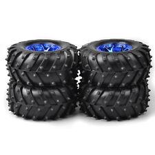 4Pcs Tires Wheel Rim 3002B For HSP Racing 1:10 RC Monster Bigfoot Car 12mm Hex