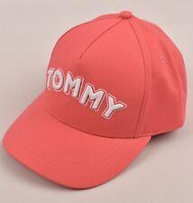 TOMMY HILFIGER Girls' Kids' Pink and White Baseball Cap, 54cm