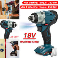 "For Makita DTD154 18V Brushless Cordless 4-Speed 1/4"" Impact Wrench, Tool Only"