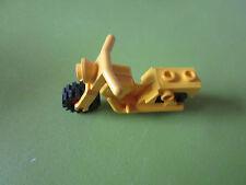 LEGO gelbes Motorrad
