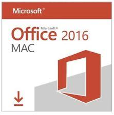 Microsoft MS Office 2016 für MAC (Download + Lizenz) * BLITZVERSAND 30 Sekunden