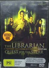 The Librarian - Quest For The Spear (DVD, 2007)