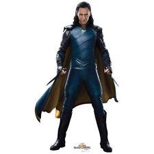 LOKI Ragnarok Lifesize CARDBOARD CUTOUT Standup Standee Poster Tom Hiddleston