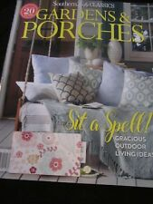 SOUTHERN LADY CLASSICS GARDENS & PORCHES MAGAZINE MAY JUNE 2018 BRAND NEW