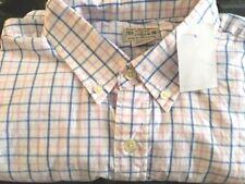 Mens J Crew  Button Down LS  Shirt Medium  New $54 NWT