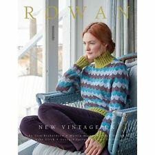 Rowan Pattern Book - New Vintage DK Knitting 14 Designs
