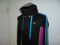 vintage 90s Adidas sweatshirt Trainingsjacke sport neon oldschool 90er 42 M