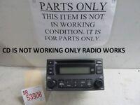 2006 2007 KIA OPTIMA FACTORY OEM AM FM RADIO CD PLAYER FOR PARTS OR REPAIR