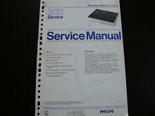 Original Service Manual Schaltplan Philips N2515