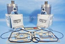 SKIDOO 800 HO SPI PISTONS TOP END KIT SNOW X 2001-2007 01-07 GSX GTX MSZ SUMMIT