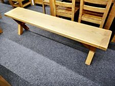 Oakvale Large Dining Bench / Indoor Seating / 148cm Wide