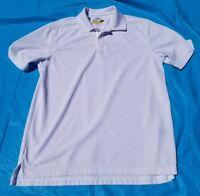 Jack Nicklaus Performance Golf/Polo Shirt Mens White Large