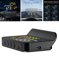 Car HUD Head-up Display OBD2 II Overspeed Warning System Speed Voltage Alarm