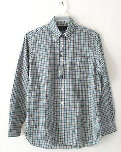 NEW Ralph Lauren Men's Classic Fit Green/Red Plaid Button Down Shirt Top M $148