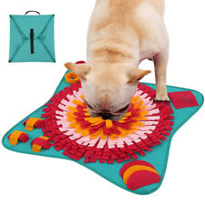 Dog Pet Sniffing Mat Feeding Cushion Nose Training Fun Toy Snuffle Pad Washable