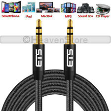 ETS BRAND 1 Meter 3.5mm AUX Male to Male Jack Stereo Speaker Headphone Cable