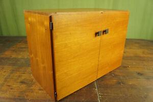 String Regal Teak 60s Sideboard Schrank Vintage Danish für Hairpin Legs 60er 5
