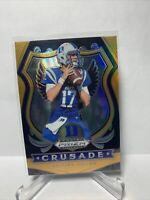 2020 Prizm Draft Daniel Jones Duke Giants Orange Crusade Prizm #d/149