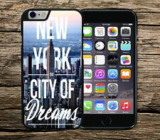 New York City Of Dreams iPhone 4/4s 5/5s SE 5c 6/6s 6+/6s+ Phone Case/Cover