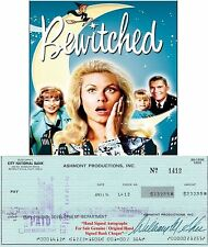 WILLIAM ASHER   BEWITCHED TV  FILM  DIRECTOR    SIGNED CHEQUE / CHECK 1974  RARE