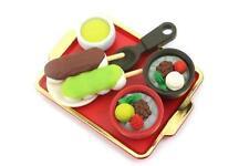 Iwako Japanese Desserts Shop Erasers Set S-3874 Au