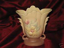 "Hull Magnolia 8 1/2"" Vase Dusty Rose and Yellow, circa 1946"
