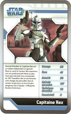 Star Wars - Top Trumps - The Clone Wars - CAPITAINE REX