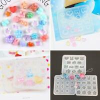 Silicone Resin Mold DIY Jewelry Pendant Making Tool Mould Craft Handmade P6O2