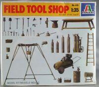 Italeri - N°419 Atelier De Campagne Field Tool Shop 1/35 Neuf Boite Céllophanée