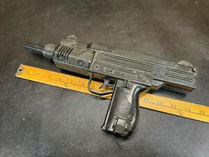 Vintage 80s UZI Water Gun Hong Kong no clip, selling as is
