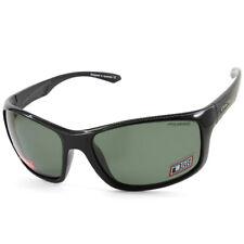 Dirty Dog Polarized Sunglasses Splint Polished Black/ Dark Green Polar 53430