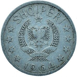 1964 COIN ALBANIA 20 QINDARKA VERY NICE    #WT27312