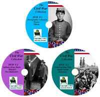 356 Civil War Books - Ultimate Collection - History & Genealogy on DVD/CD