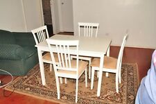 small dining table setting