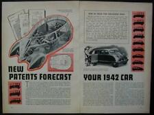 STOUT Scarab PATON Dream Cars 1940 vintage pictorial