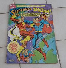 SAGEDITION  Superman contre SHAZAM !   format géant ! sep9b