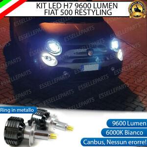 KIT FULL LED H7 6000K CANBUS LED PER LENTICOLARI ABARTH FIAT 500 595 RESTYLING