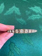Paste Bracelet Rare Antique Georgian