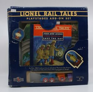 Lionel Rail Tales Playstages Add-on Set Josh and Jennie Save the Day Vol. 3