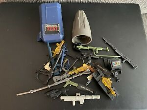 Vintage/modern Lot Of Weapons/accessories Star Wars GI Joe And More