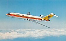 Continental Airlines 727  Airplane Postcard