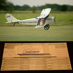 "87"" Ws CURTISS JENNY JN4-D2 R/c Plane short kit/partial kit & plans, PLEASE READ"