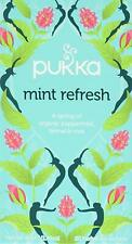 Pukka Mint Refresh Tea Bags  4 Boxes Of 20 (80) Free UK Delivery