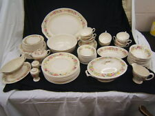 Homer Laughlin Roselane Service for 12 w/ Serving Pieces Lot of 101 Pieces VGC
