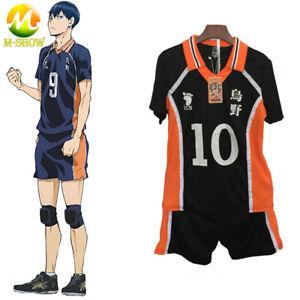 Haikyuu Cosplay Costume Karasuno High School Volleyball Club Uniform Sportswear