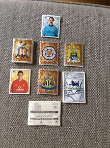 143 Different Merlin/Topps Premier League Stickers 2001