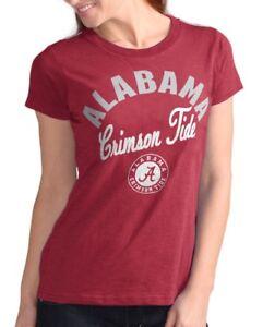 "Alabama Crimson Tide Women's G-III NCAA ""Tailgate"" Crew Neck Slub T-shirt"