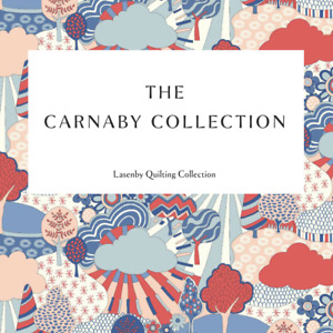 *NEW* - LIBERTY OF LONDON- THE CARNABY COLLECTION 100% COTTON FABRIC - QUILTING