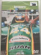 EXTREME MACHINES Race Cars DISCOVERY Channel DVD Region 4 PAL NEW