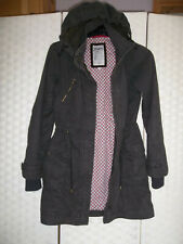 Mantaray Duffle- parka type coat Size 8.Lovely style.Detachable hood.Winter warm